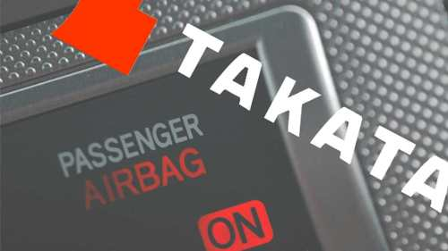 small resolution of a photo of an airbag for the takata airbag recall