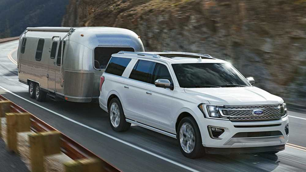 medium resolution of a ford expedition pulling an airstream rv trailer
