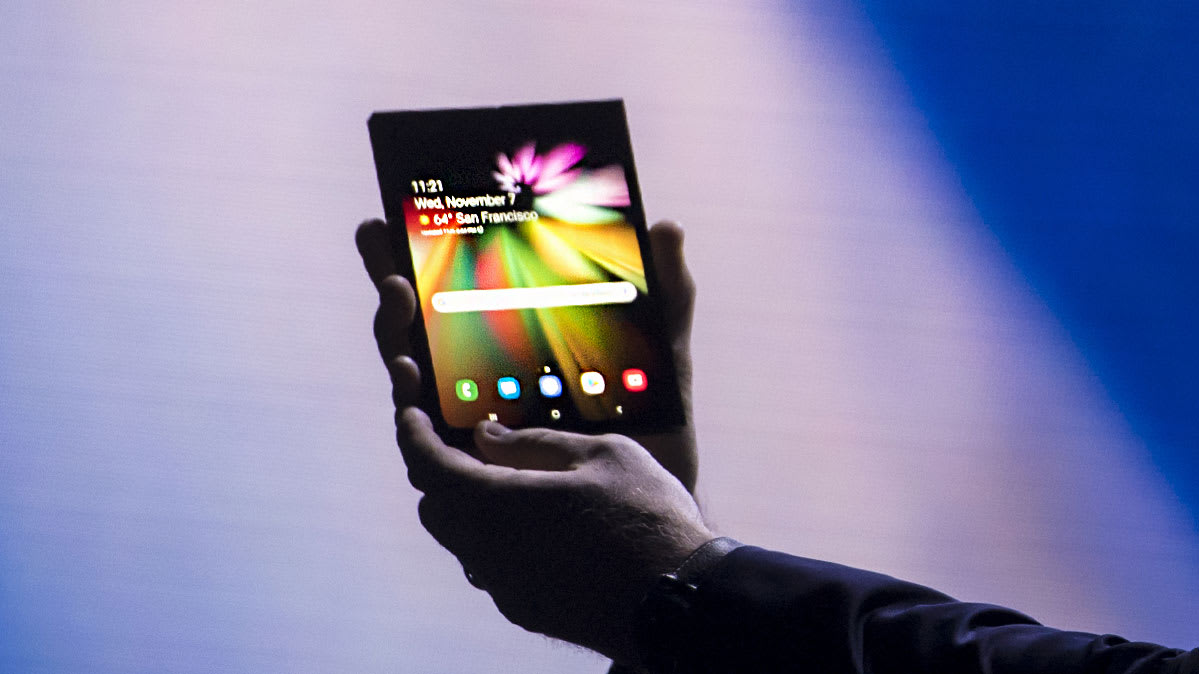 Samsung Unveils New Foldable Phone  Consumer Reports