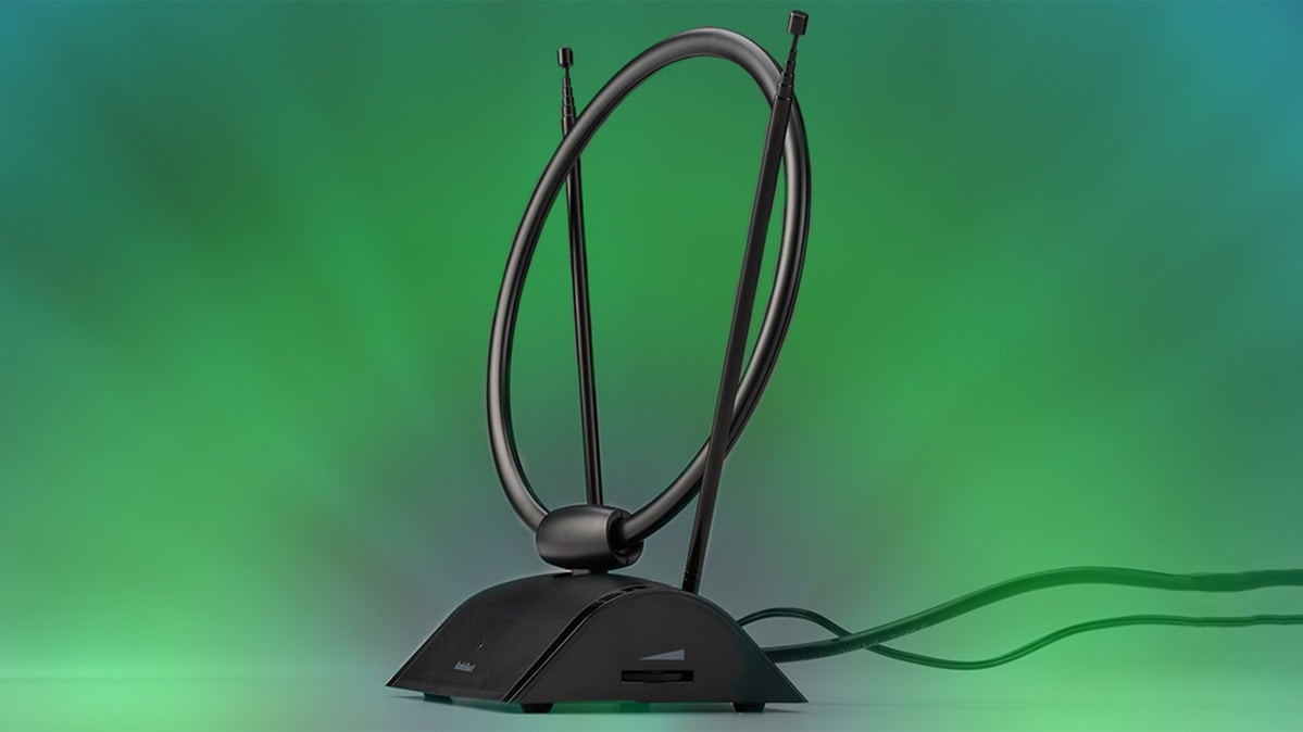 hight resolution of a tv antenna