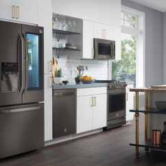 Black Kitchen Appliances Mobile The Appeal Of Stainless Steel Consumer Reports With