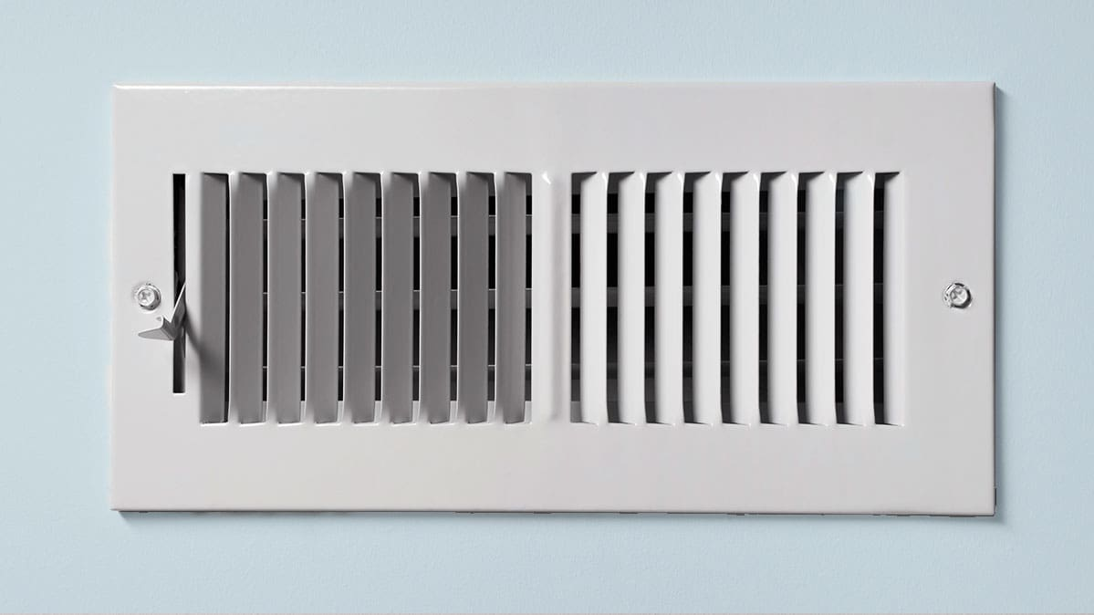hight resolution of an ac register