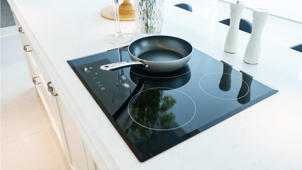 kitchen cooktops how to organize your countertops pros and cons of induction ranges consumer reports a pot on an cooktop