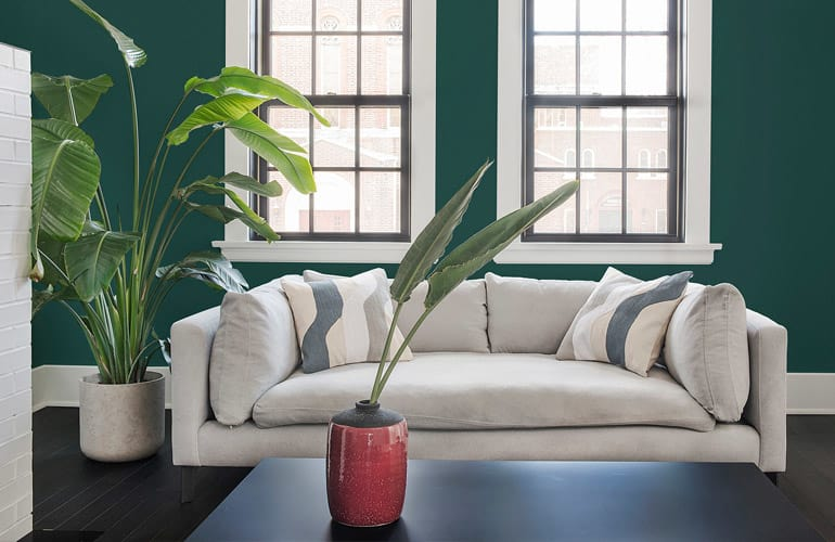 pictures of paint colors for living rooms room mounted tv hottest interior 2019 consumer reports painted with ppg diamond night watch ppg1145 7 color