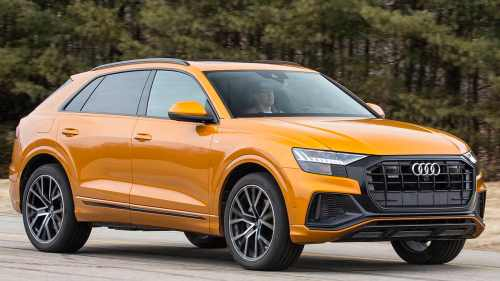 small resolution of 2019 audi q8 front view