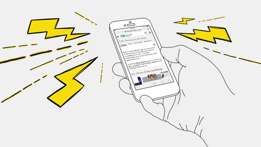 medium resolution of an illustration of a hand holding a smartphone