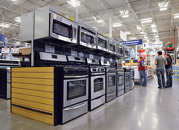 lowes kitchen appliances 18 inch deep cabinets plan your remodel at a big box store consumer reports what you get lowe s
