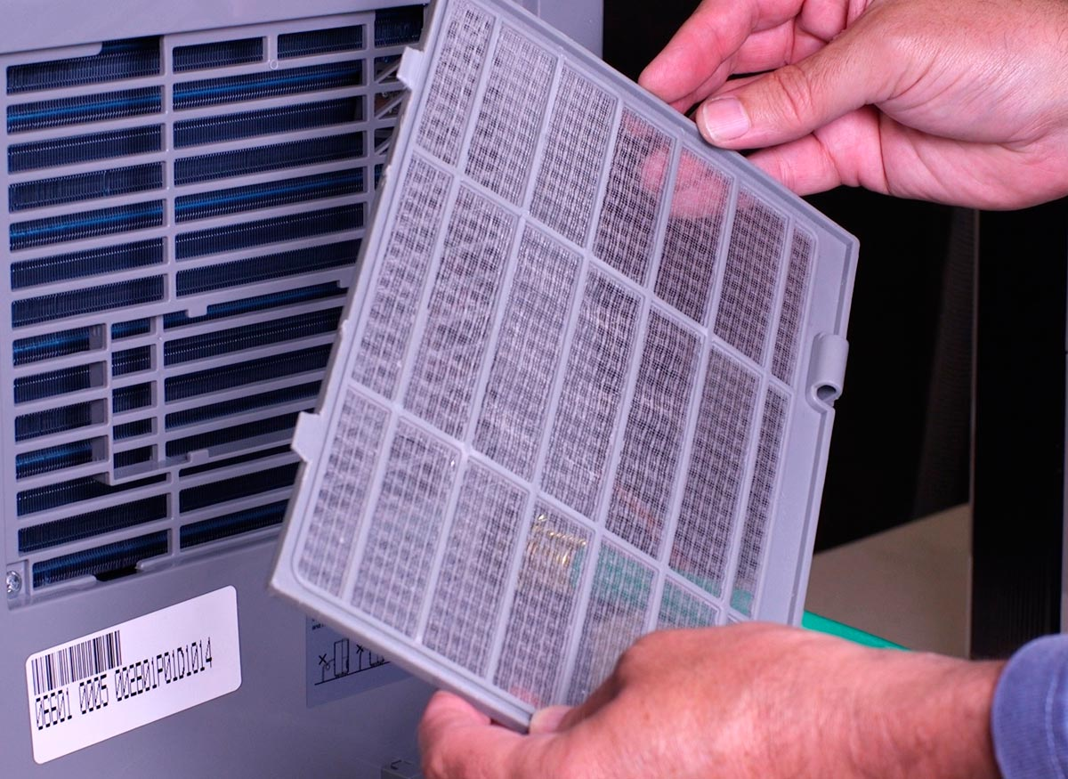 hight resolution of a dehumidifier filter