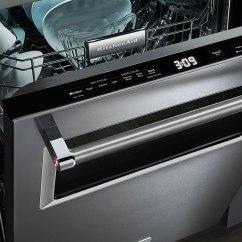 Kitchen Aide Dishwasher Organizer Ideas Kitchenaid With Window Consumer Reports