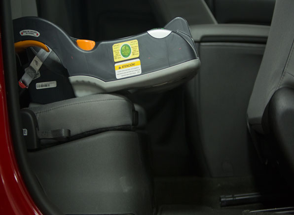 Clever Child Seat Installation in ExtendedCab Pickups
