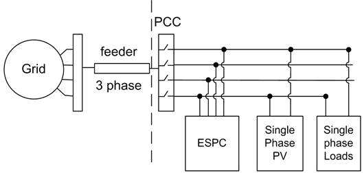 Control Scheme of Energy Storage Power Converter for