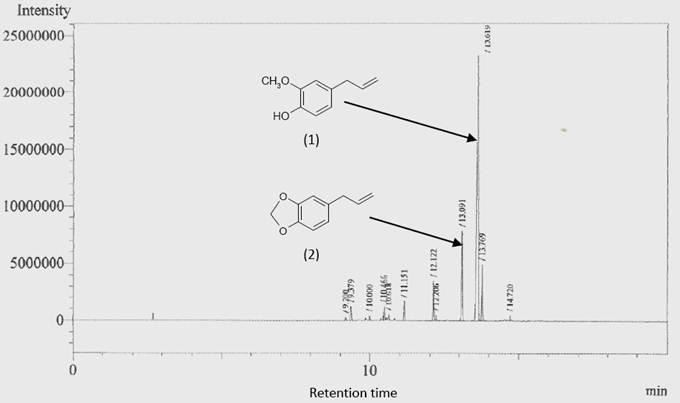 Gcgc Ms Analysis Isolation And Identification Of Bark
