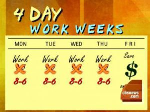 4 day week work – Change Your Life
