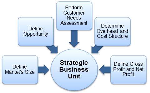Strategic Business Units (SBU's)