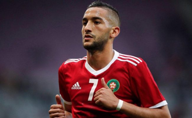 Hakim Ziyech Wins Lion D Or 2018 Article19 Ma In English