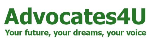 Advocates4U-logo Your future, your dreams, your voice