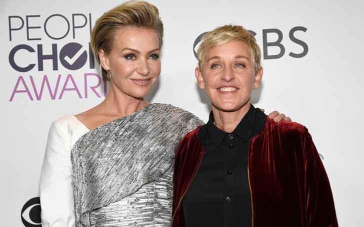 Australian Model Portia De Rossi Married Twice; Her Family