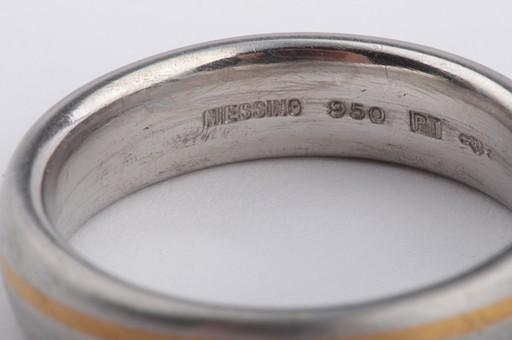Niessing Platinring Ring in aus 950 er Platin Markenringe