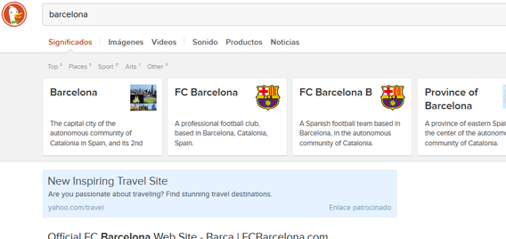 Resultado de pesquisa sobre o termo Barcelona