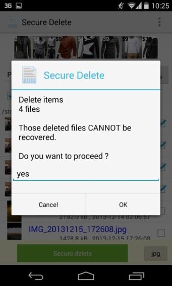 طريقة حذف الصور والملفات من الجوال بشكل نهائي وآمن