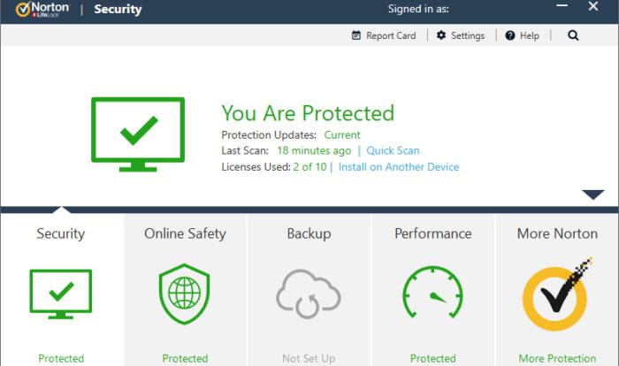 Norton-Internet-Security-interface