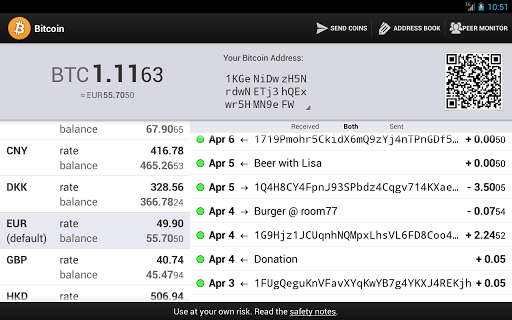 Bitcoin wallet Android
