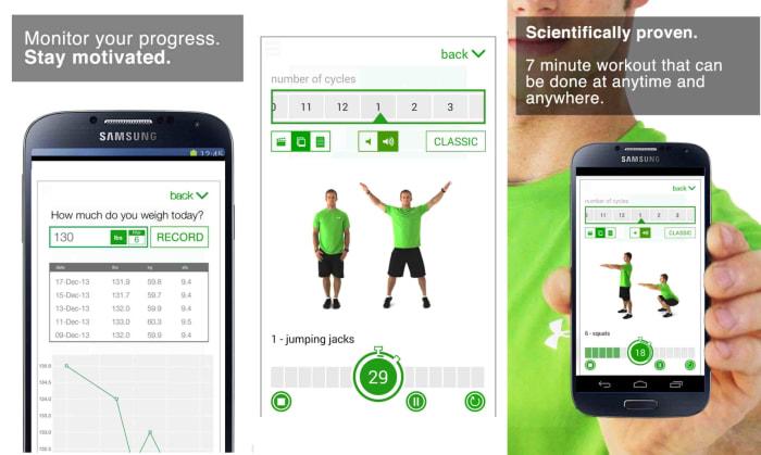Best workout apps 7 minute workout j2war9