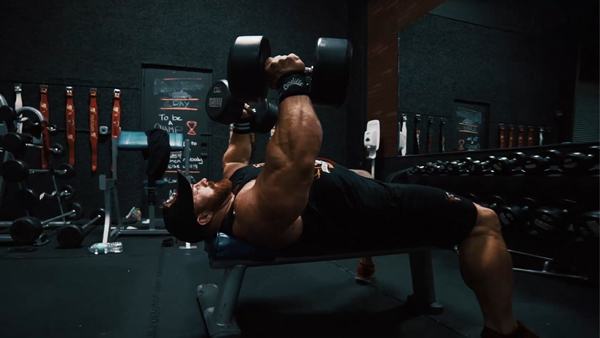 A1Supplements Chest Dumbbell Workout