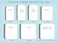 Mattress Size Chart Australia