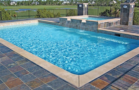 swimming pool interior finishes