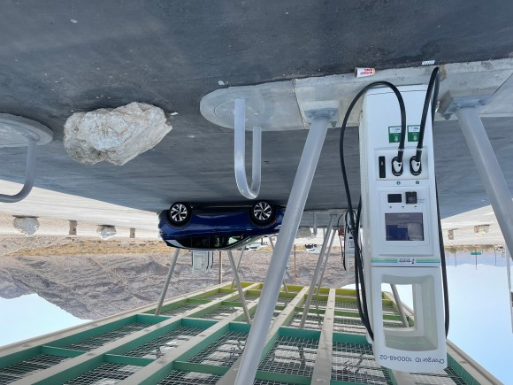 Electricity America electric vehicle charging station