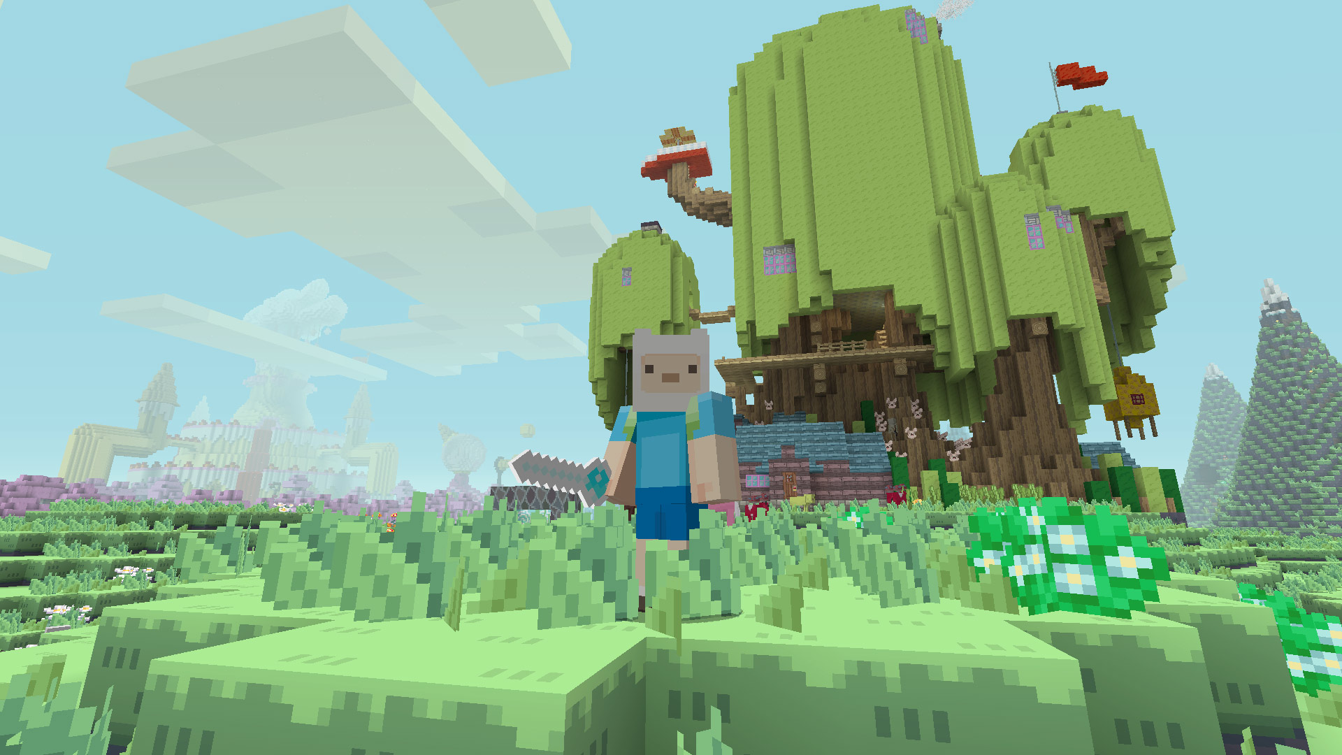 Minecraft Adventure Time Mashup Pack Review