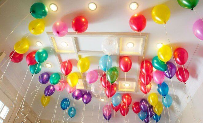 Attractive Birthday Decoration Room #1 Affordable Kids Birthday