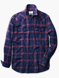 He By Mango Slim-fit Madras Check Shirt