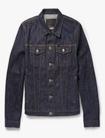 Burberry Brit Dry-denim Jacket
