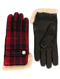 Dsquared2 Checked Gloves