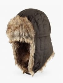 North Coast New Pure Cotton Waxed Trapper Hat