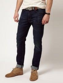 Levis Jeans 511 Slim Tapered Fit Rain Shower Dark Wash
