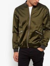 New Look Khaki Bomber Jacket