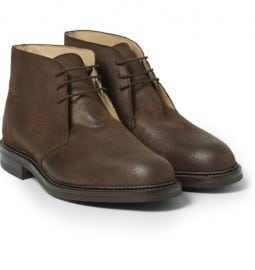 Bottes Chukka George Cleverley Nathan Suede