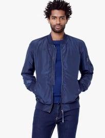 He By Mango Sleeve-pocket Bomber Jacket