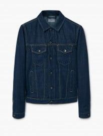 He By Mango Dark Denim Jacket
