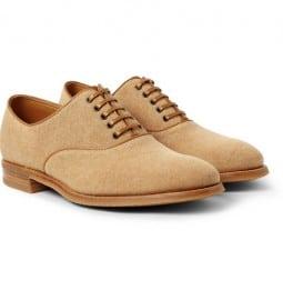 John Lobb Savannah - Chaussures Oxford en toile