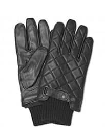 Barbour Quilted Leather Glove