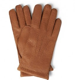 Hestra Cashmere-lined Leather Gloves