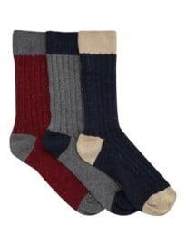 3 Pack Boot Sock Nep