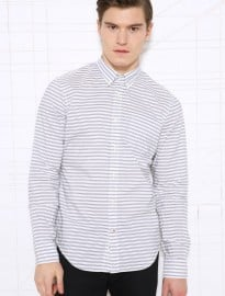 Bellerose Horizontal Striped Shirt