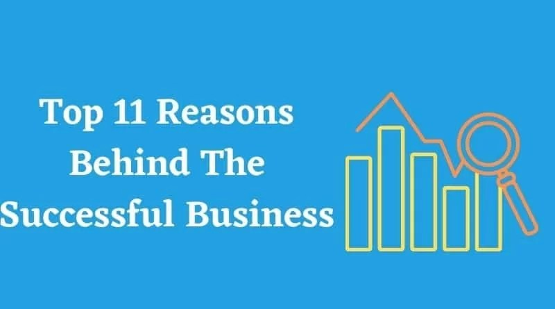 Top 11 Reasons Behind The Successful Business