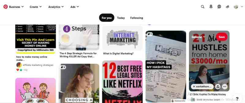 How to create Pinterest account and how does it work?