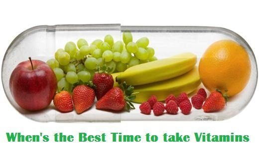 Whens the Best Time to take Vitamins